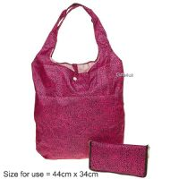 PINK LEOPARD - Handybag Re-Usable Folding Eco Shopping Bag